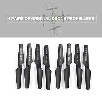 Kongqiabona GoolRC T6 Propellers Original Drone Propellers CW/CCW Propellers JJR/C H31 Propellers RC Quadcopter Propellers