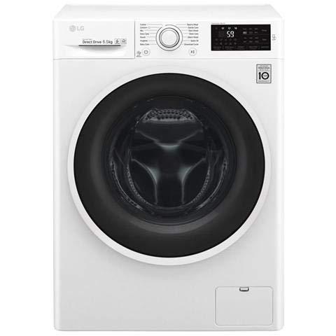LG F2J6WN0W Lavatrice 6.5 Kg, Bianco