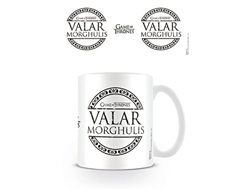 Game of Thrones-Valar Morghulis-Tazza in ceramica, multicolore
