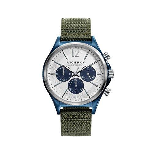 Viceroy Hommes Chronographe Quartz Montre avec Bracelet en Nylon 471109-05