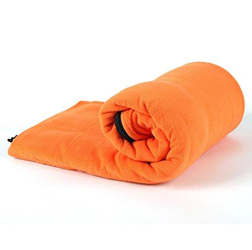 In pile caldo/sacco a pelo/viaggi/salute , orange , 180*75cm