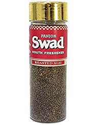 Panjon Swad Mouth Freshener, Roasted Flax Seeds, 100g