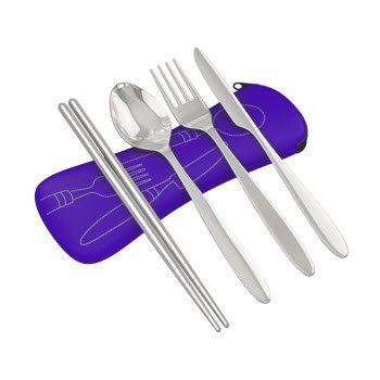 Roaming Cooking Set de couverts de voyage 4...