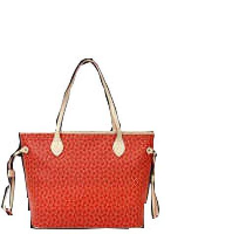 PACK Dreiteilige Taschenpaket Handtaschen Europa Und Die Vereinigten Staaten Mode Freizeit Tide Arrows Taschen,A:WineRed D:Orange
