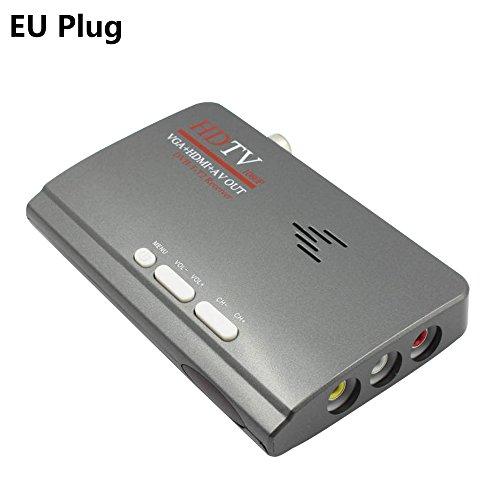 TOOGOO 2018 Nuovo digitale HDMI DVB T/T2 dvbt2 TV VGA Convertitore di ricevitori di moda