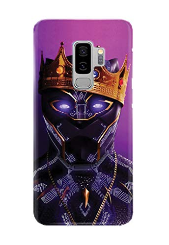 Case Me Up Handy Hülle für Samsung Galaxy S9+ [Plus] Black Panther T'Challa Superhero Marvel Comics 11 Designs -