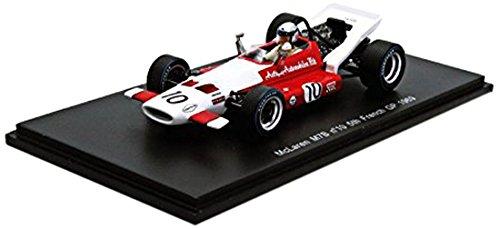 Spark - S3127 - Véhicule Miniature - Modèle À L'échelle - Mclaren M7b - GP F1 France - 1969 - Echelle 1/43