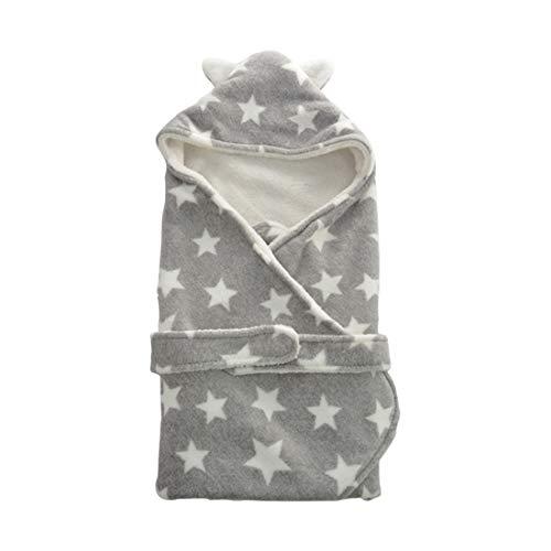 68c0f7fe63fb Automne hiver chaud Baby Swaddle Wrap impression Wrap Emmailloter - Nouveau-né  Doux Sac de