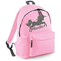 Personalised Unicorn Name Backpack Rucksack School bags Girls Personalised Bags