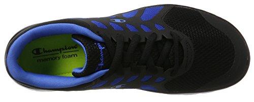Champion Alpha, Chaussures de Running Compétition Homme Multicolore (Nbk/nbk - Schwarz/royalblau)