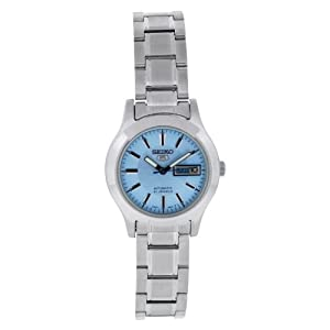 Seiko Womens Analogue Automatic Watch with Stainless Steel Strap SYMD89K1