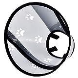 Furpaw Collare Protettivo per Cane e Gatto, Guarigione di Ferite e Testa per Grande e Medio Cani Gatti, L, 38-48cm