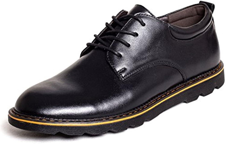 LEDLFIE Frühling Business Casual Schuhe Low Cut Schnürschuhe  Billig und erschwinglich Im Verkauf