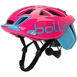 Bollé (CEBF5) 31593 Casco Ciclismo, Unisex Adulto, (Cyan Magenta), 54-58 cm
