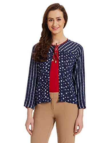 Global Desi Women's Cotton Blouson Jacket