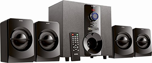 Intex IT-3004-SUF 4.1 Channel Multimedia Speakers (Black)
