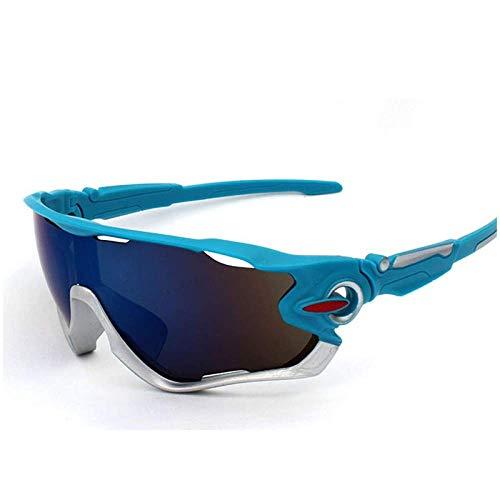 AMITD Fahrradbrille Radfahren Eyewear Bike Brille für Frauen/Männer Outdoor Sports Sonnenbrillen Big Lens Spectacles Sonnenbrillen -
