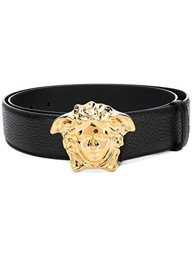 Versace Luxury Fashion Herren DCU4140DGOVVD41OH Schwarz Gürtel | Jahreszeit Permanent