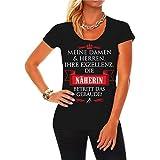 Frauen und Damen T-Shirt Ihre Exzellenz DIE NÄHERIN Größe XS - 5XL