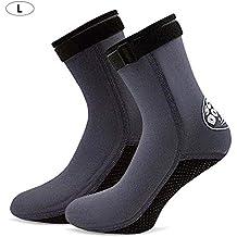 Calcetines de Agua para Mujer y Hombre, Calcetines de Neopreno Calcetines térmicos Calcetines de Playa