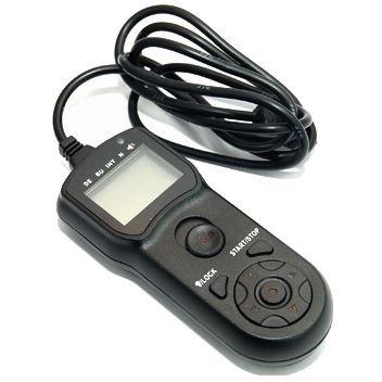 JJC TM-C Timer telecomando con multifunzionale - compatibile con Canon RS-60E3 per Canon G10, G11, G12, G15, G1 X, SX50 HS