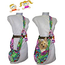 Bolso para Niña y transportin mascota hasta 3 Kgr. CANDY CRUSH. Lavable en lavadora