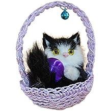 Little Finger - Juguete de simulación para gato y gato, diseño de muñeca suave,