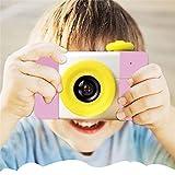 KOBWA Kreative Kinder-Digitalkamera, wiederaufladbar, mit 4 x Digital-Zoom, 3,8 cm LCD-Display, Weihnachtsjahr, Geburtstag, Festival, Geschenk für Kinder Jungen Mädchen 8gb Memory Card - Pink