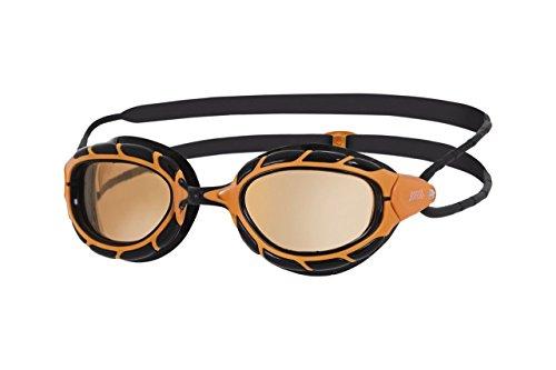 Zoggs Predator Polarized Ultra Schwimmbrille, Orange/Black/Copper, OneSize (Predator Mirror)