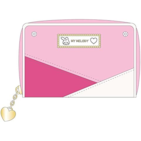 My Melody 3 color scheme series coin case pink MM-779