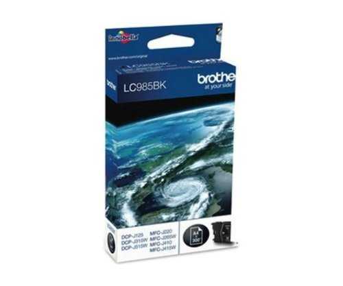 Brother LC-985BK Twin-Pack Cartouche d'encre d'origine Noir