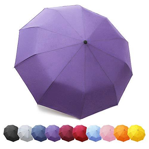 Paraguas Plegable Automático 10 Marcos Reforzados