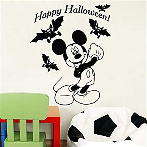 wandaufkleber 3d Wandtattoo Kinderzimmer Mickey Maus Wandaufkleber Aufkleber Kreative Diy Nette Mickey Maus Halloween Kostüm Kinder Name Baby Wandaufkleber für Kinderzimmer Hause