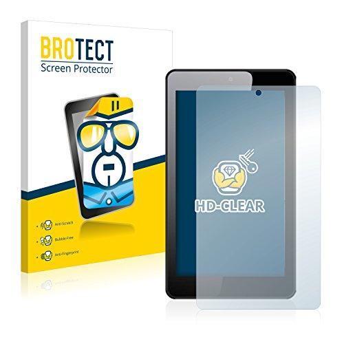 BROTECT Schutzfolie kompatibel mit Hisense Sero 7+ [2er Pack] klare Bildschirmschutz-Folie