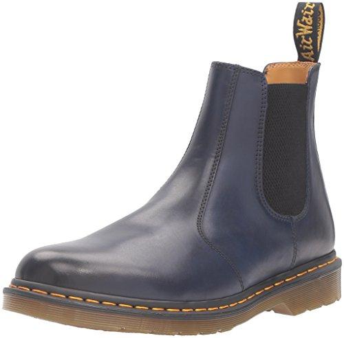 Dr. Martens Unisex-Erwachsene 2976 Chelsea Boots, Blau (Navy Antique Temperley), 39 EU