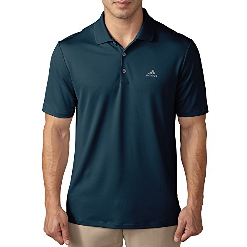 adidas Golf Herren Performance-LC-Logo-Polo - Petrol Night - XL -