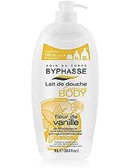 Byphasse 1000002027 Caresse Lait de Douche Fleur de Vanille -