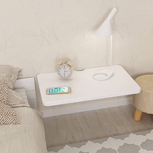 QiXian Kompakter Computer-Schreibtisch passt Sich jeder Raum-Speicher-Anzeige an Regal mit Tisch-Worktop Unsichtbarer Faltbarer Schreibtisch-Speisetisch-weiße Wand-Tabellen-Studie Laptop-Tabellen-Sch -