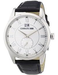 Cerruti 1881 Herren-Armbanduhr XL Analog Quarz Leder CRA067A212D