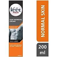 Crema depilatorio para hombres de Veet (200 ml)