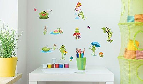 adesivi-da-parete-a-forma-di-rana-pvc-adesivo-rimovibile-arte-su-vetro-bagno-glitter