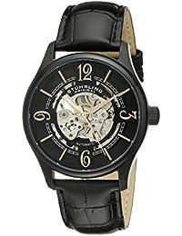Stührling Original 992.02 - Reloj de cuarzo para hombres, negro
