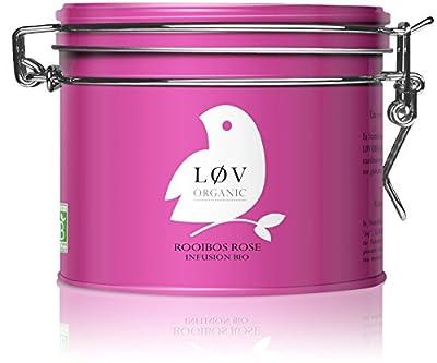 Løv Organic - Rooibos Rose - Boite Métal 100 g