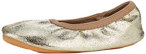 Beck Basic, Zapatillas de Gimnasia para Niñas, Dorado Gold 14, 28 EU