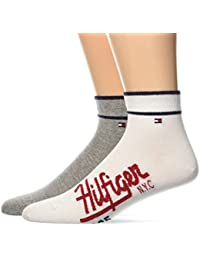 Tommy Hilfiger Men's Th Hilfiger Quarter Socks pack of 2