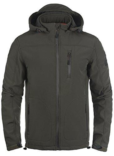 INDICODE Deegan Softshell Jacke, Größe:XL;Farbe:Raven (930)