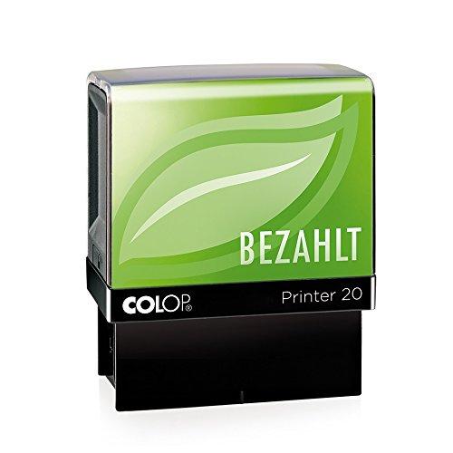 Colop 132067testo timbro printer 20green line con testo pagato