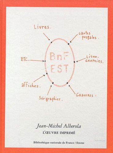 Jean-Michel Alberola, l'oeuvre imprimée