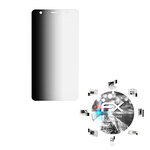 atFolix Blickschutzfilter kompatibel mit Elephone P7000 Blickschutzfolie, 4-Wege Sichtschutz FX Schutzfolie
