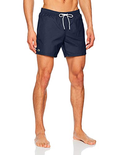 Lacoste MH7092 Short Homme Bleu (Marine/Calanque 9nx) Large (Taille fabricant:L)